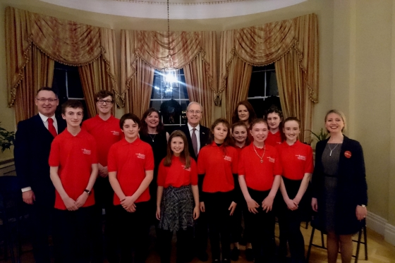 2016 Blog MG Offaly Westmeath Irl Funds Young Leaders performance 2016 560x373