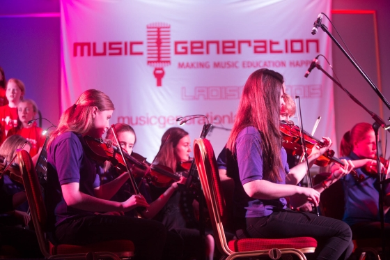 2017 Blog Music Generation Laois DMEP partnership concert 560x373