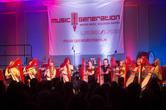 2017 News Music Generation Laois Harp Ensemble 560x373