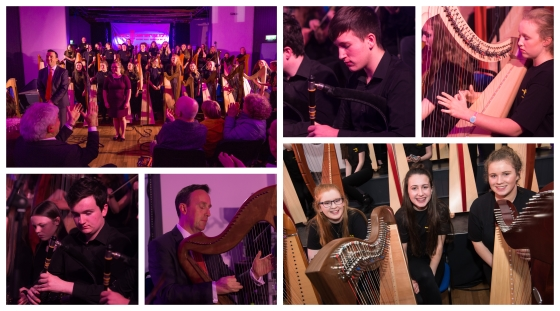 Music Generation Laois Tionól for Harps and Pipes 2017