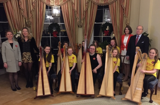 MG Laois Harp Ensemble Irl Funds Young Leaders 560x370