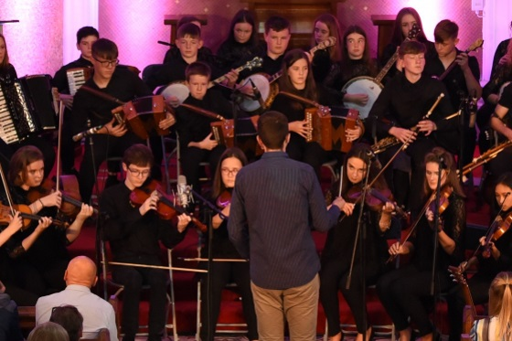 Nos Nua Louth Youth Folk Orchestra Photo Tony Lennon 560x373