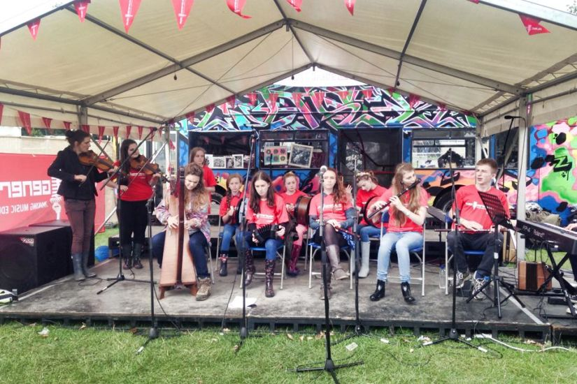 Laois at electric picnic
