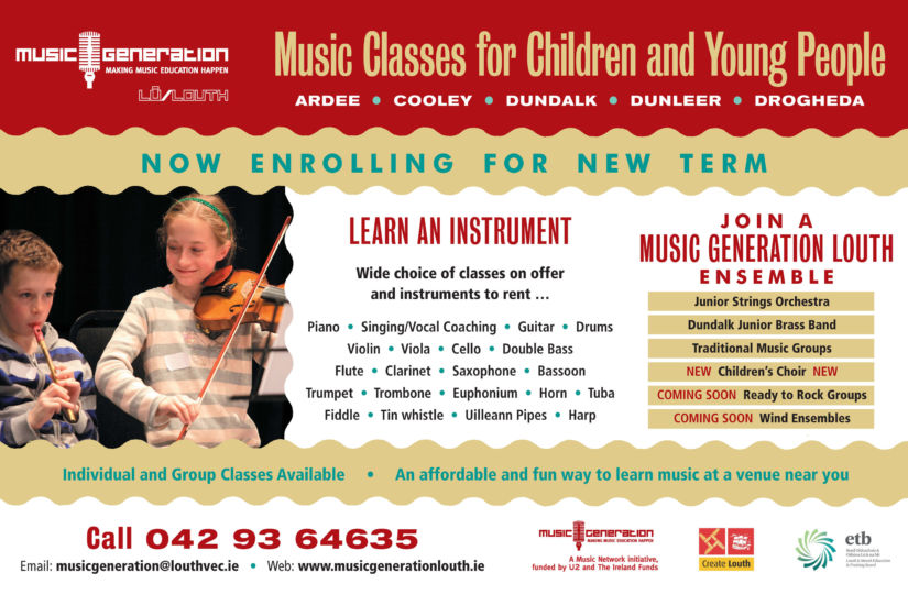 Louth autumn classes