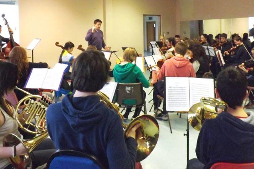 Midlands YO rehearsal