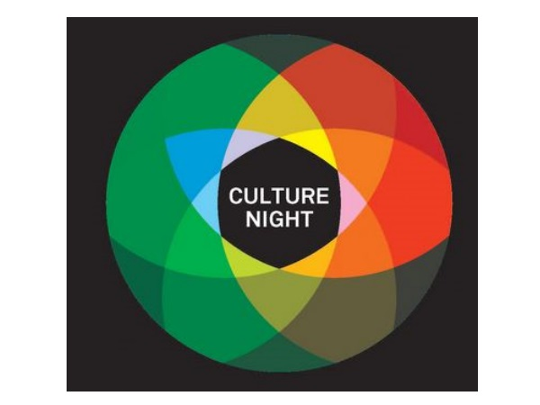 Culture night in white rectangle
