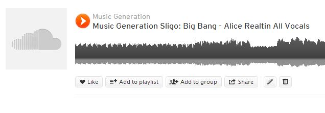 Sound cloud big bang