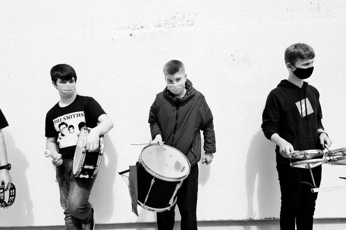 Young musicians from the SubSounds Music Collective. Image: Alternative Entertainments/Music Generation South Dublin