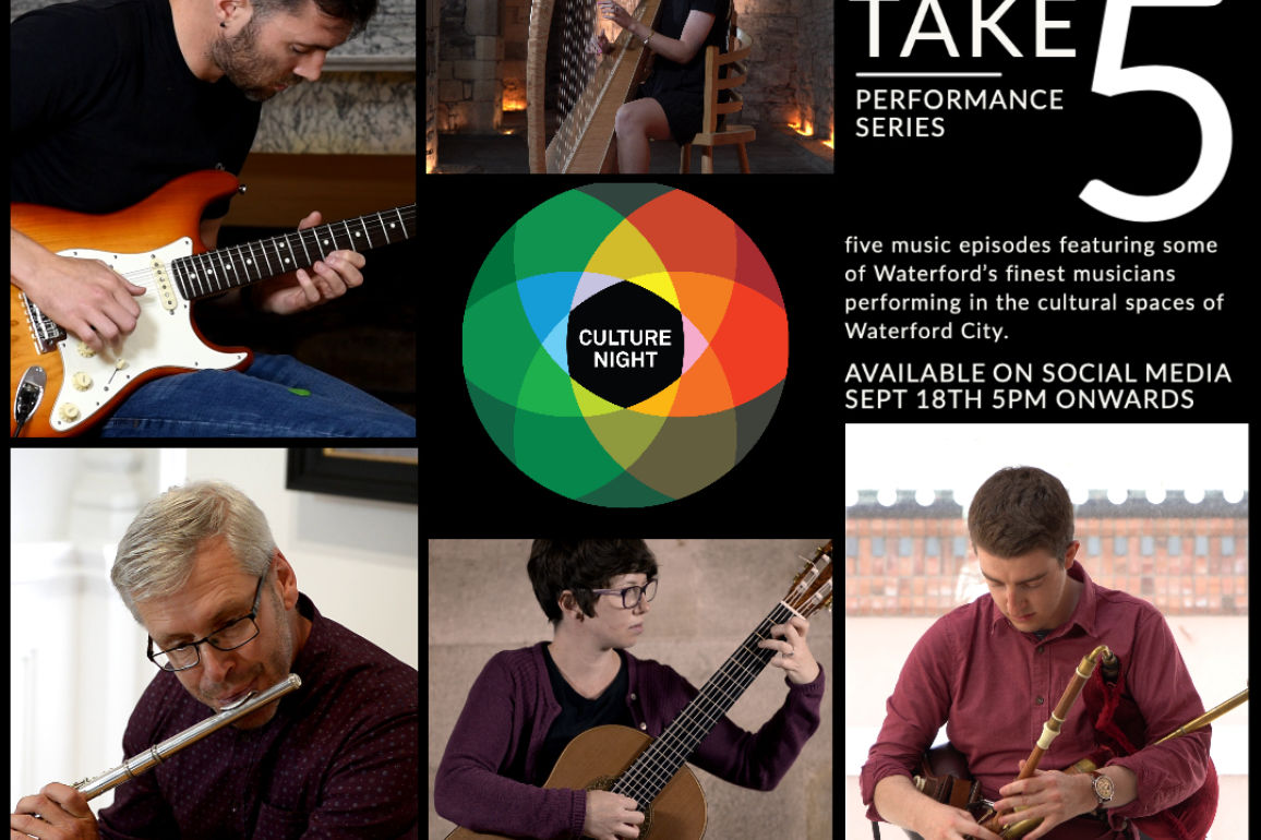 Waterford Culture Night 2020 Take 5 Update