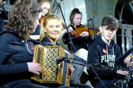 Music @ Mount Leinster 2019. Image: Barbara Flynn