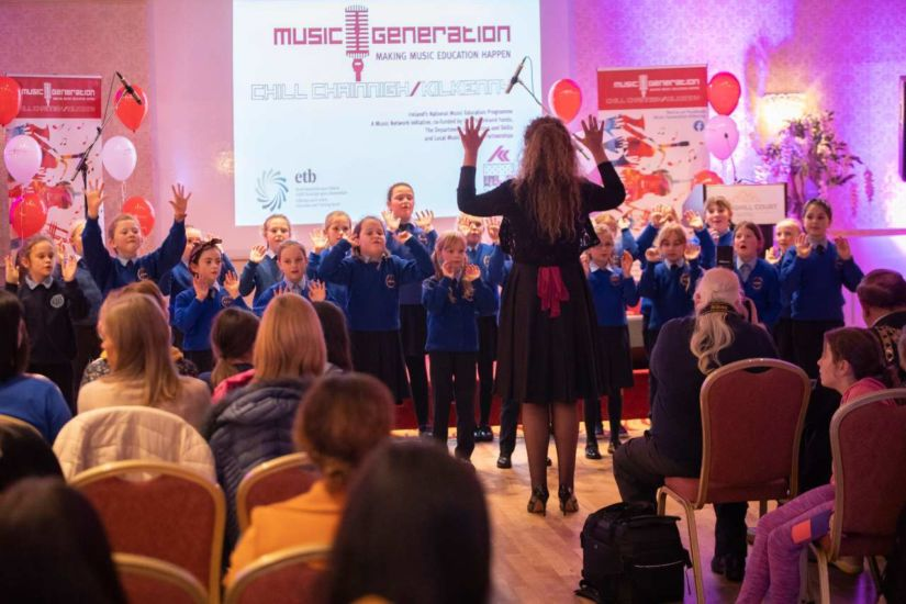 2019 Music Generation Kilkenny Launch night 800x534